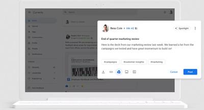 خدمة Currents من جوجل ستحل محل الشبكة الاجتماعية جوجل بلس