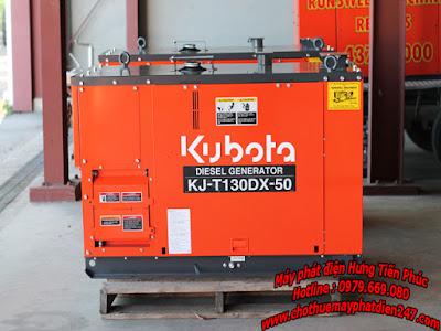 Máy phát điện Kubota 12.5kva KJ-T130DX