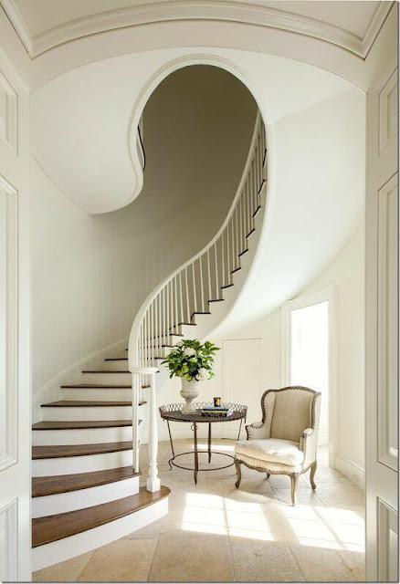 Dise o de escaleras modernas estilo caracol - Montee trap ...