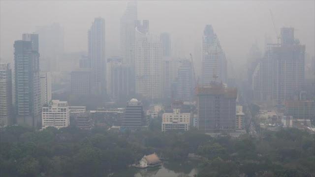 OMS: La contaminación causa 7 millones de muertes al año