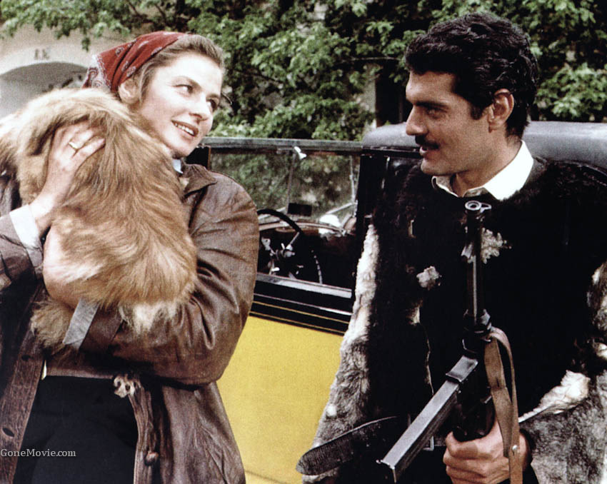 Image result for omar sharif and ingrid bergman the yellow rolls royce