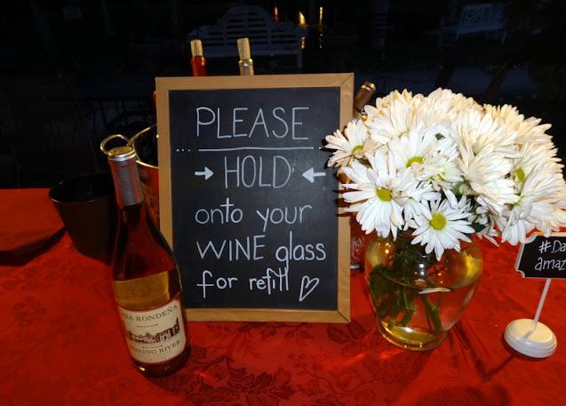 Cute wine sign