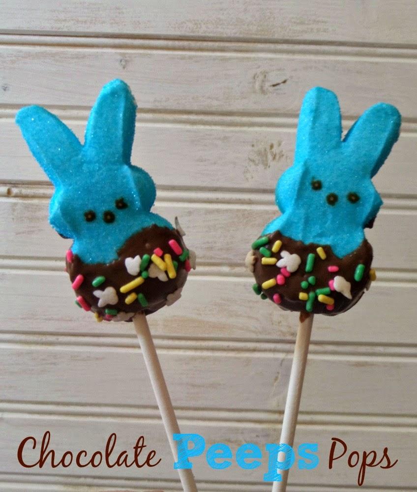 Chocolate Peep Pops Recipe