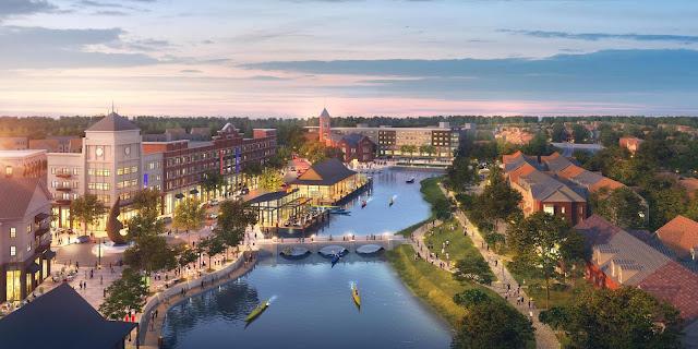 Cidade de Lakeland na Flórida