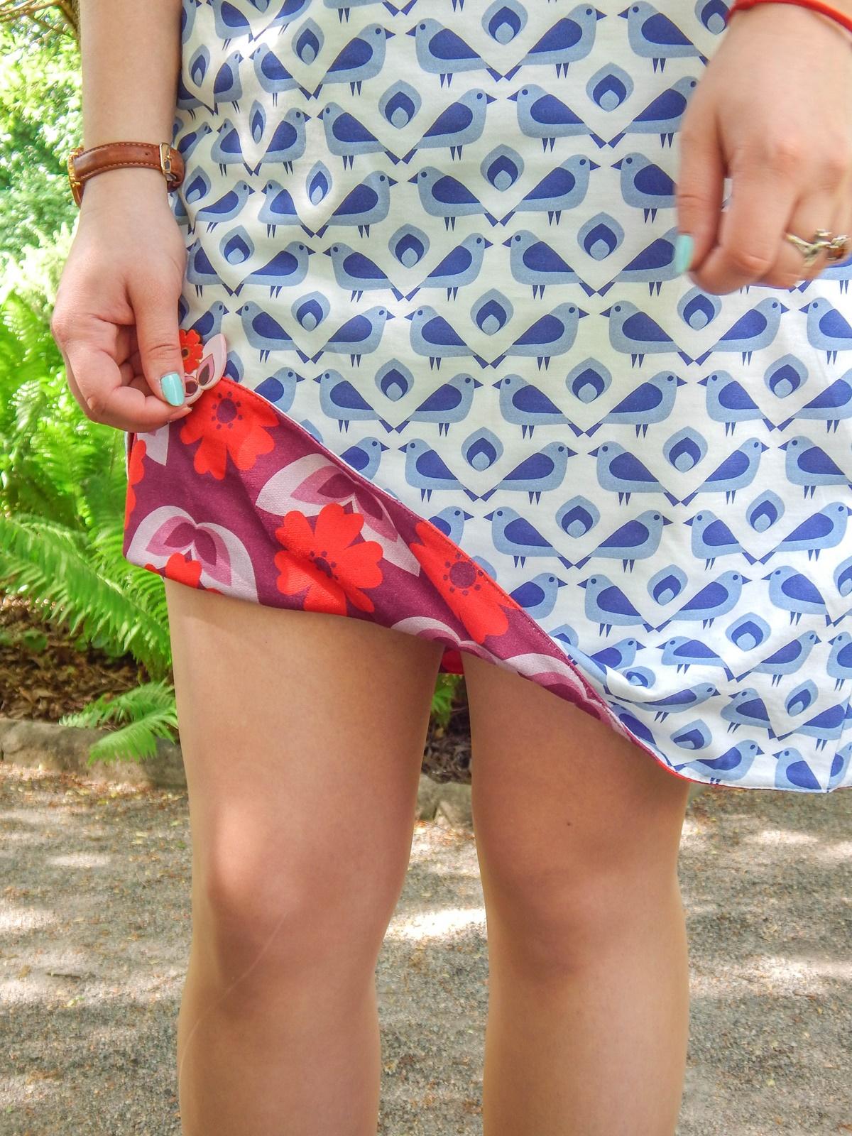 7 samodobro dwukroopek dwustronna sukienka dla mamy prezent na dzień matki drewniana biżuteria wróbel i dzika róża metka z opowiadaniem ciekawe mlode polskie marki odzieżowe moda lifestyle łódź