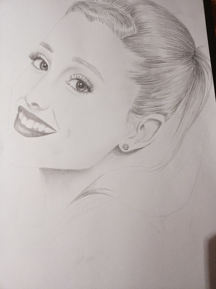 Geliefde Today's drawing: Ariana Grande ~ Erica's Daily Posts &KU85