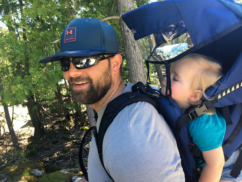 MEC Happytrails Child Carrier Backpack Review