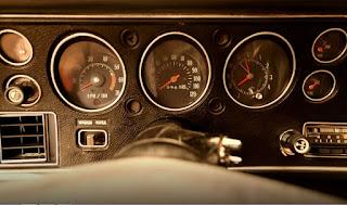 1971 Chevrolet Chevelle Malibu SS RPM & Speedometer