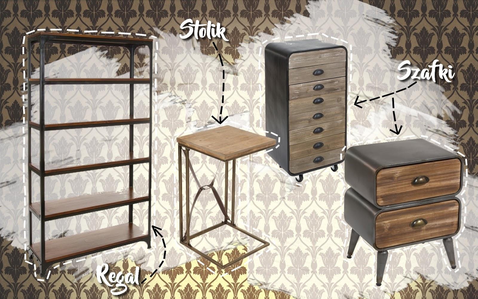 3 mieszkanie w londynskim stylu szafki stoliki szufladniki półki szafeczki w stylu sherlocka holmesa styl wiktoriański ciekawe dodatki meble do mieszkania