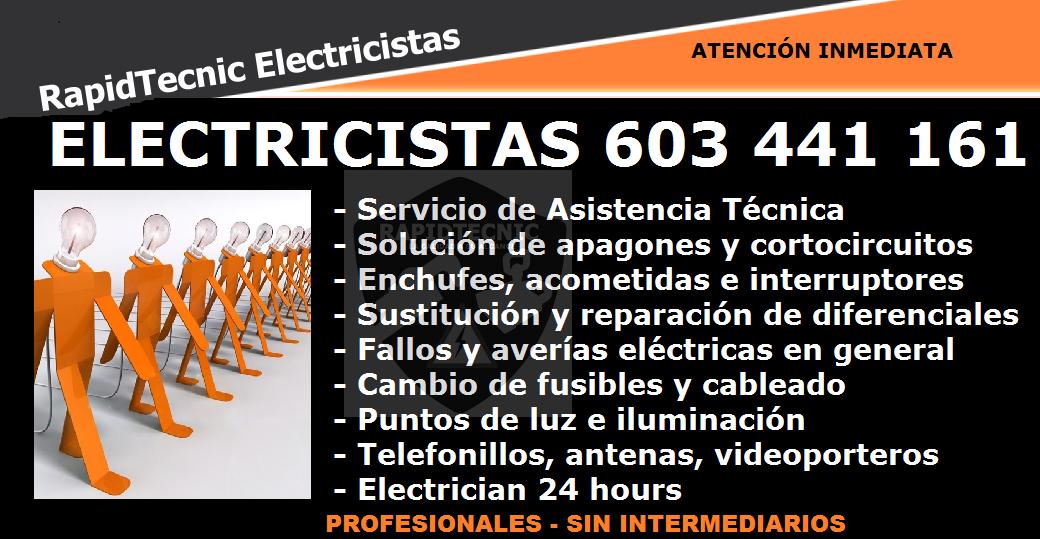 Rapidtecnic madrid electricistas san agust n del guadalix - Electricistas en madrid ...