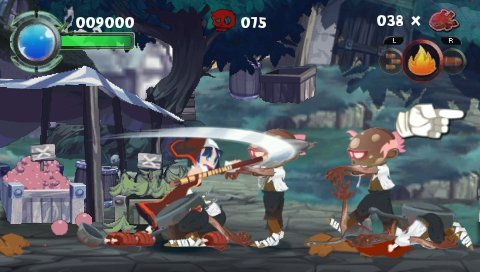download game ppsspp cso ukuran kecil twin blades