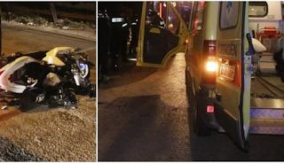 Εικόνες Που ανατριχιάζουν από το τροχαίο στο Αιγάλεω. Νεκρός Ο 20χρονος Μπασκετμπολίστας