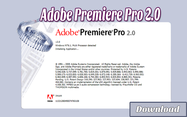 Download Adobe Premiere Pro 2.0 RESMI, LEGAL, GRATIS & HALAL | Adobe