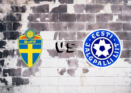 Suecia vs Estonia  Resumen