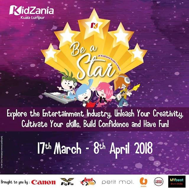 Be a Star at KidZania Kuala Lumpur.