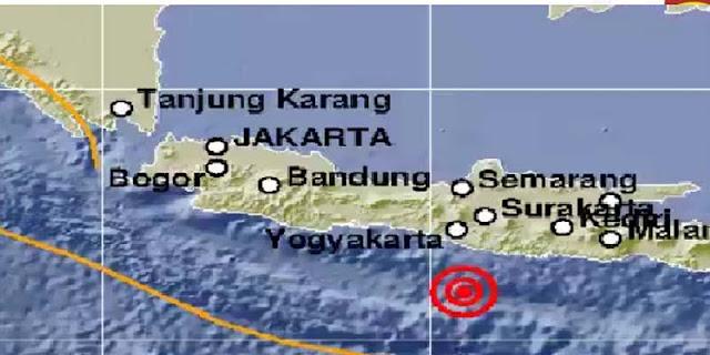Gempa Magnitudo 5,0 Guncang Gunungkidul