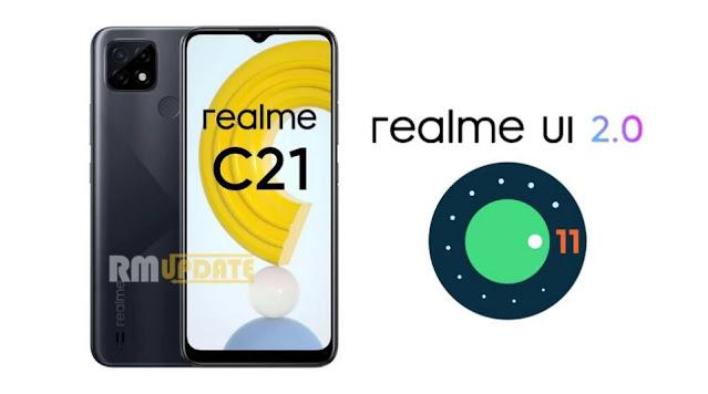 تحديث Realme C21 إلى أندرويد 11 مع واجهة المستخدم ريلمى 2.0