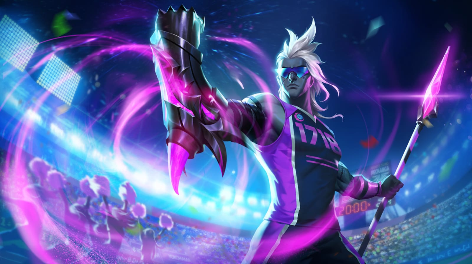 Wallpaper Moskov Javelin Champion Skin Mobile Legends Full HD for PC