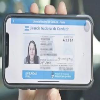 Proyecto para adherir a licencia de conducir digital