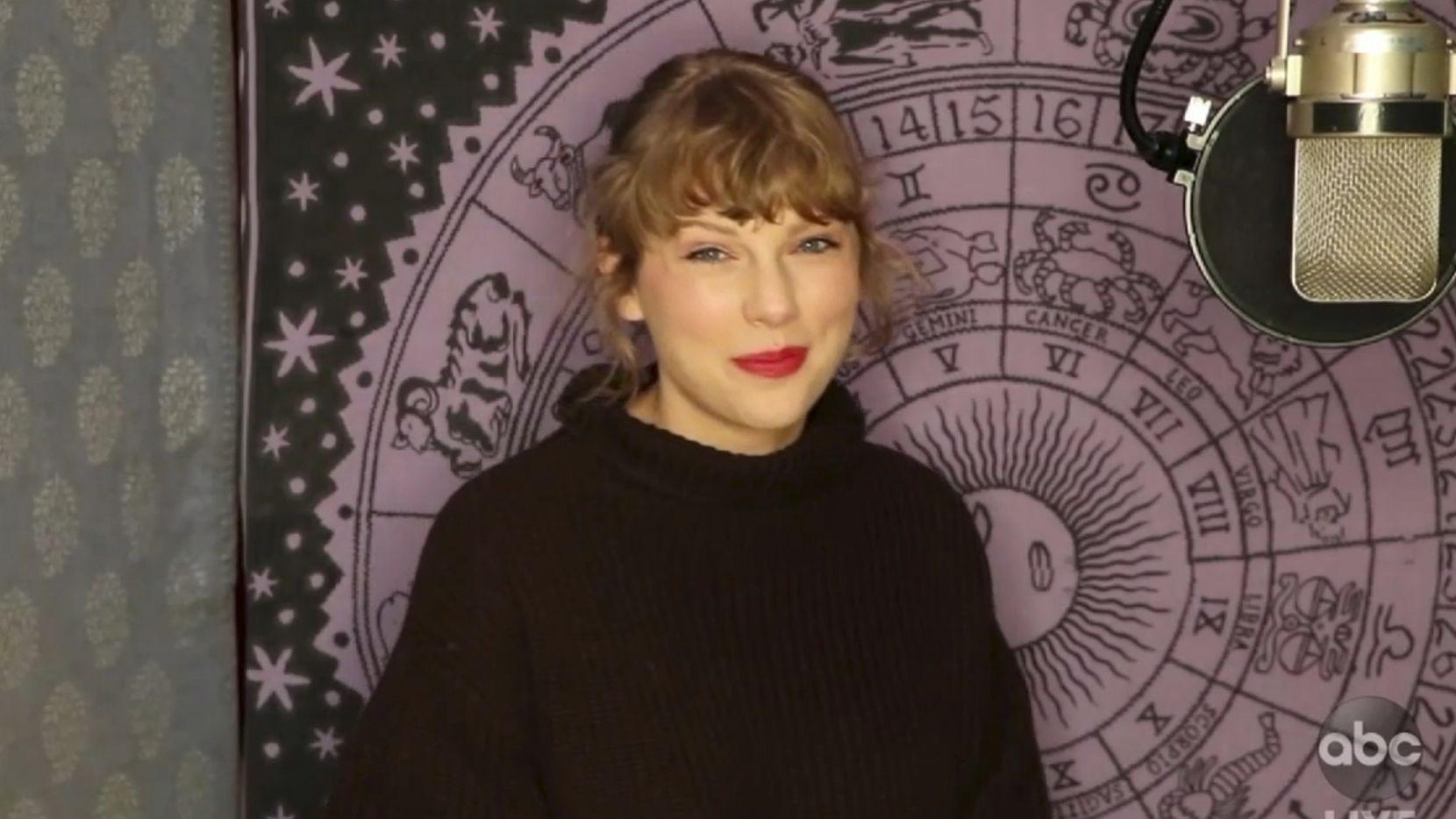 Taylor Swift American Music Awards 2020