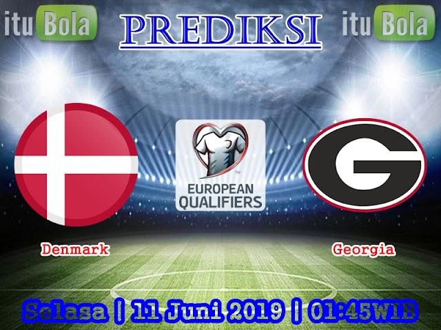 Prediksi Denmark vs Georgia - ituBola
