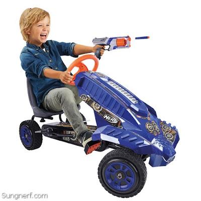 Xe Đồ Chơi 4 Bánh Nerf Battle Racer