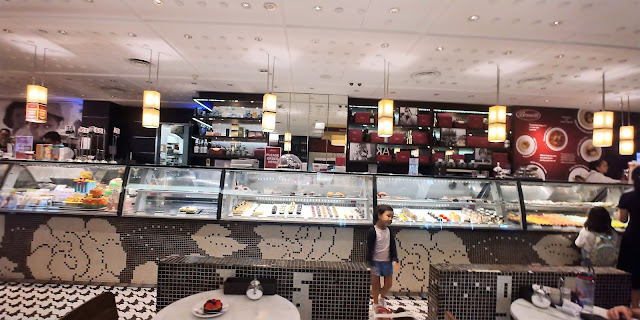 interior restaurant design counter top brunetti