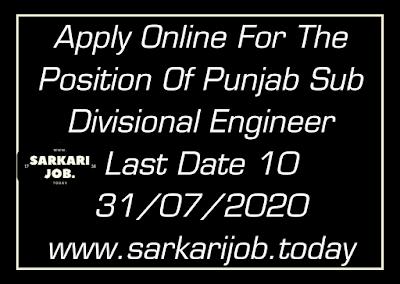 punjab sub divisional engineear