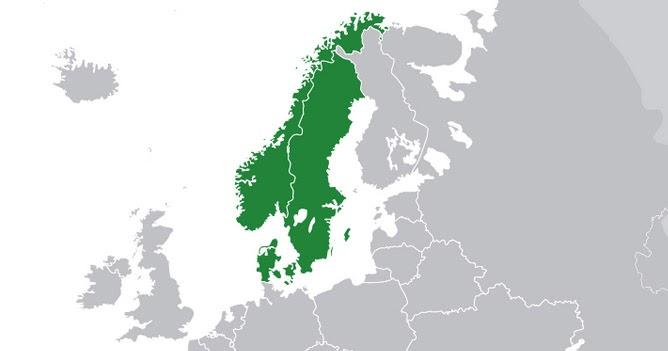 vilka länder ingår i skandinavien