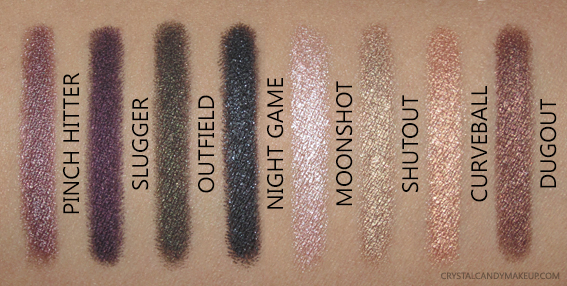 TheBalm Batter Up Eyeshadow Sticks Swatches