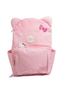 TAS ANAK HELLO KITTY KANVAS