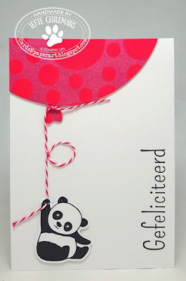 Stampin' Up Party Pandas
