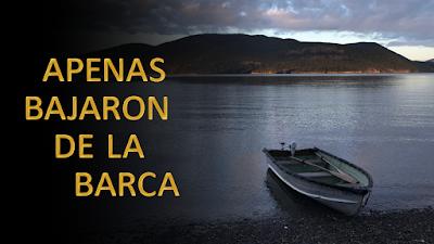 Evangelio según san Marcos (6, 53-56): Apenas bajaron de la barca, la gente los reconoció