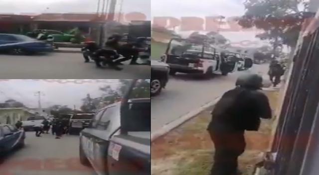 Video: Así de bestial fue Policías vivieron terrible el enfrentamiento con Sicarios del CJNG en Cancún, capturaron a 15 pistoleros