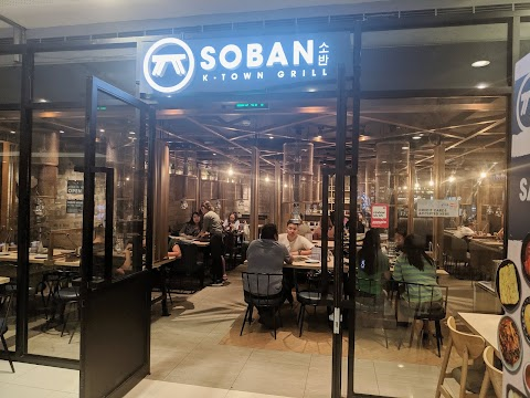 Soban K-Town Grill in SM Megamall