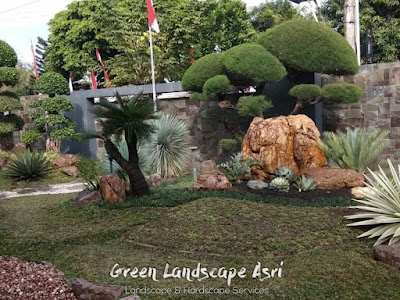 Jasa Buat Taman di Surabaya | Jasa Desain Landscape Terbaik & Berkualitas di Surabaya