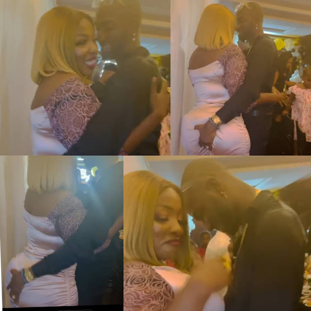 Anita Joseph, shares video of her husband, MC Fish, grabbing her butt as they celebrate 4 years of knowing eachother (Video)