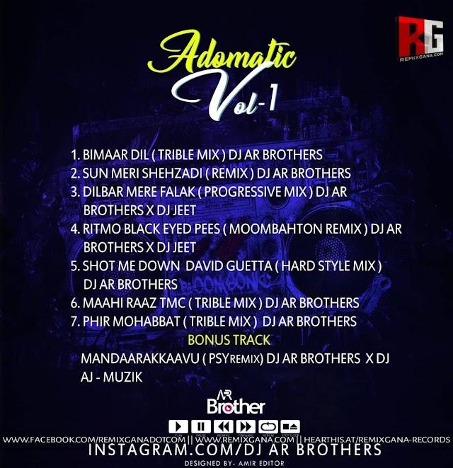 Adomatic Vol 1 Dj AR Brothers