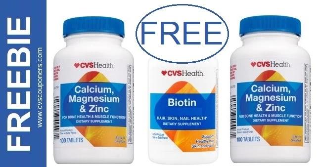 FREE CVS Health Vitamins this Week