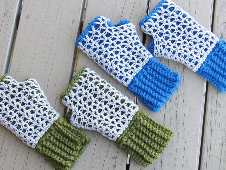 Crochet Dreamz: Claire Finger less Mittens, Free Crochet Pattern