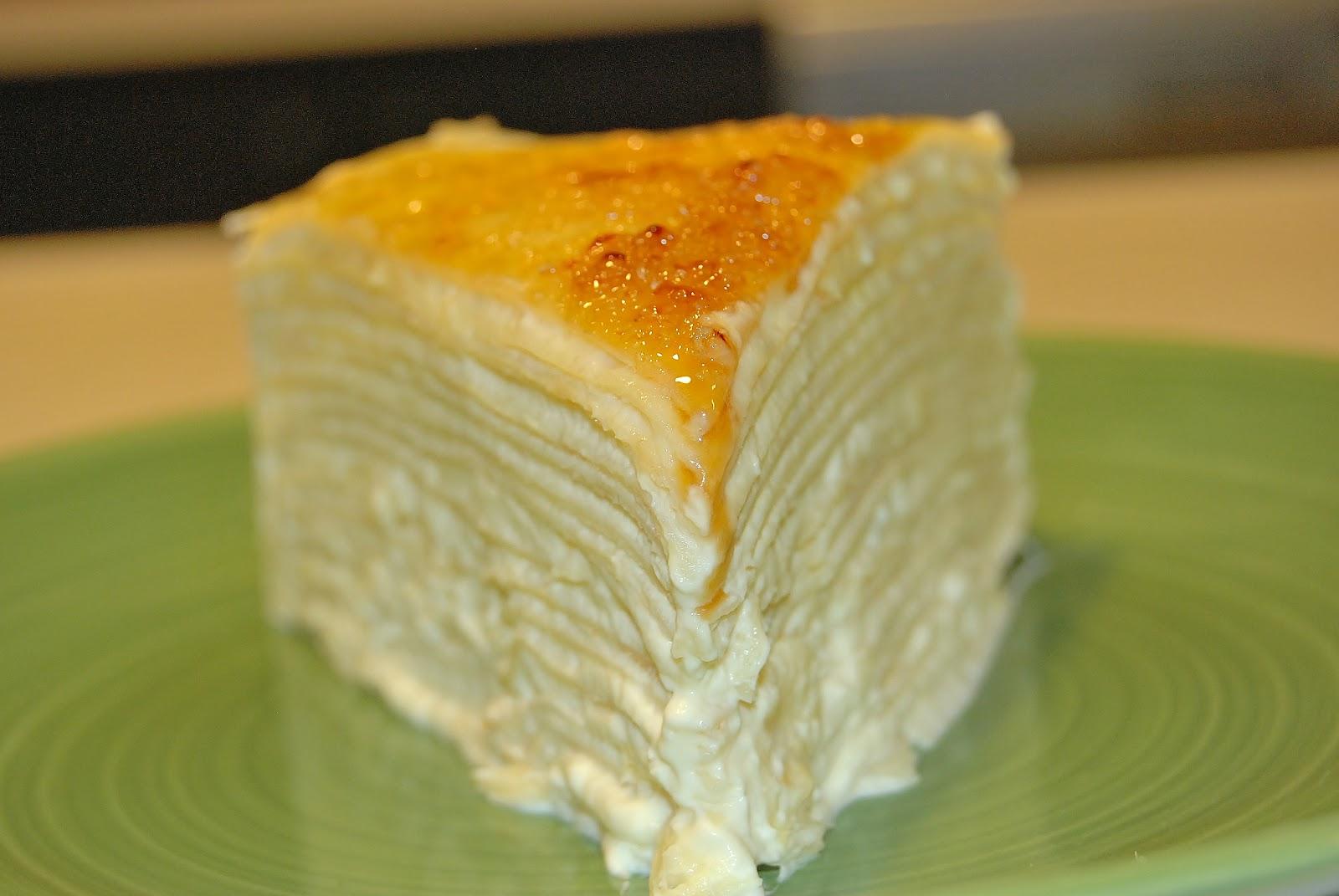 Durian Crepe Cake Recipe