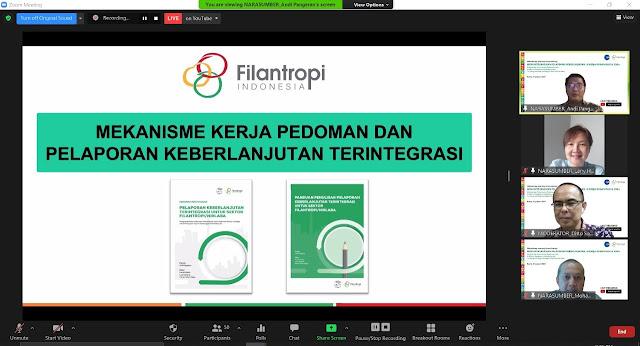 Filantropi Indonesia Luncurkan Pedoman dan Platform Pelaporan Keberlanjutan Terintegrasi