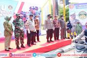 Kapolres Parepare Bersama Jajarannya Hadiri Launching Tagline ASR