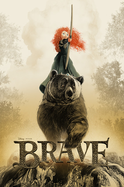 Brave Mondo Poster by Greg Ruth