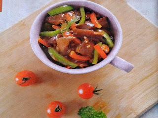 Gambar Resep Daging Sapi Tumis Jamur Shiitake