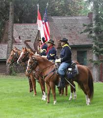 Evergreen Heritage annual Memorial Day Commemoration-Buffalo Soldiers