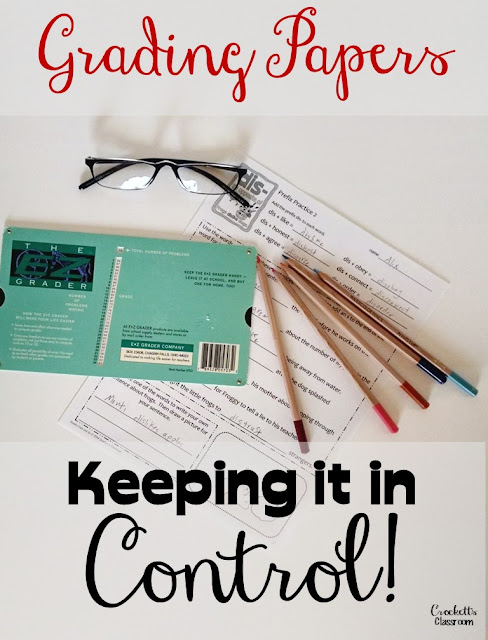 Everyone can keep their paper grading under control with these simple organizational ideas.