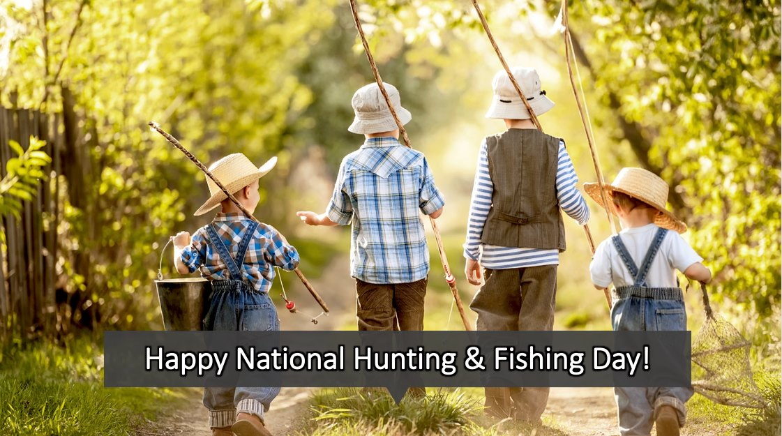 National Hunting and Fishing Day Wishes Lovely Pics
