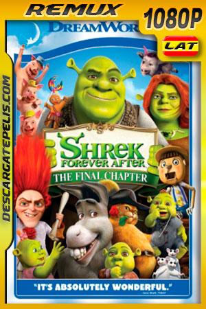 Shrek Felices para siempre (2010) 1080p BDRemux Latino – Ingles