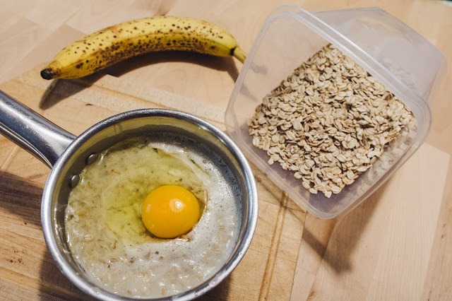 jak zrobić owsiankę z jajkiem